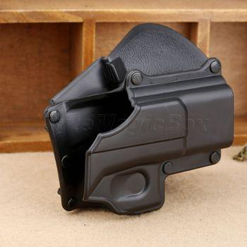 SURIEEN Пистолет Кобура Right Hand Belt Loop Paddle Платформа Кобура Чехол случае Защиты для Glock 17 19 22 23 31 32 34 35