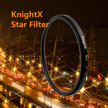 KnightX 52MM 58MM 67MM 8 Point 8PT Star Filter  Point Line 52 58 MM for Canon 18-55mm EOS Rebel T4i T3i T2i XSi XT lens DSLR X