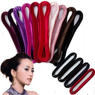 007 Donuts Meatballs head Hair maker  Fashion  Hair accessories Hairpin Barrette Hair band New pattern Wholesale