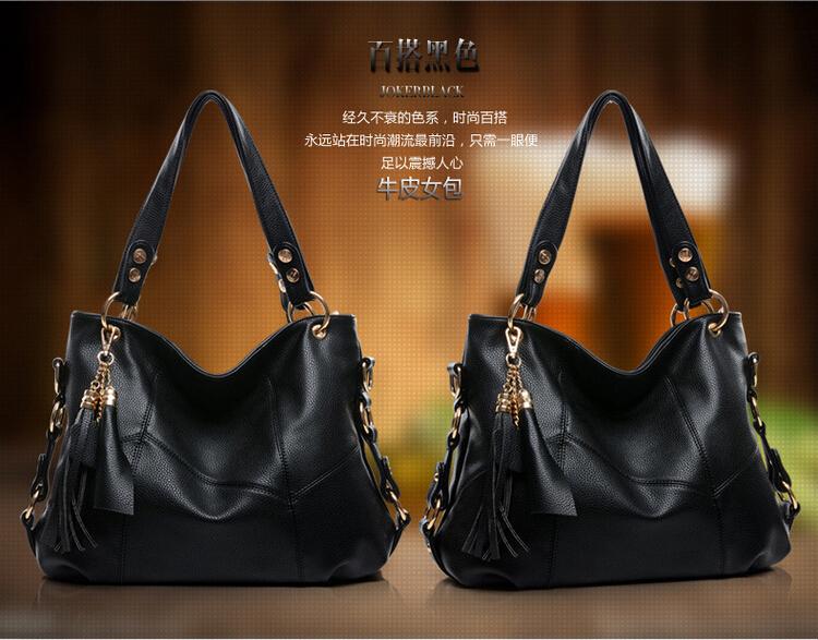 Здесь можно купить  The new 2015 female bag Europe and the leisure shoulder bag Tassels handbag portable oblique across packages,channel purse  Камера и Сумки