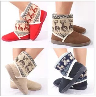 Гаджет  Free shipping Autumn and winter fashion snow boots warm waterproof antiskid thickening None Обувь