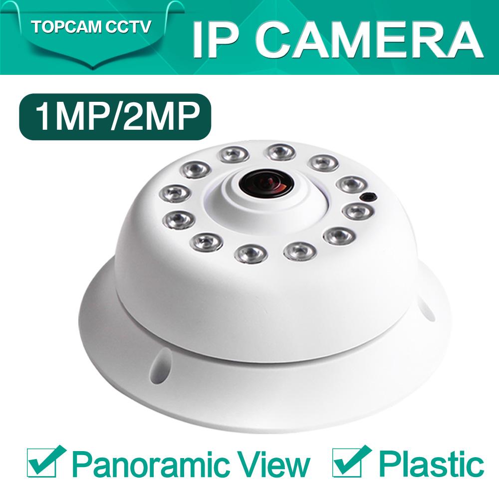 HD Onvif 2MP 1080P IP Camera IR 10m Night Vision Panorama 360 Degree Fisheye Dome Network 720P IP Cam 1.0MP XMeye P2P(China (Mainland))
