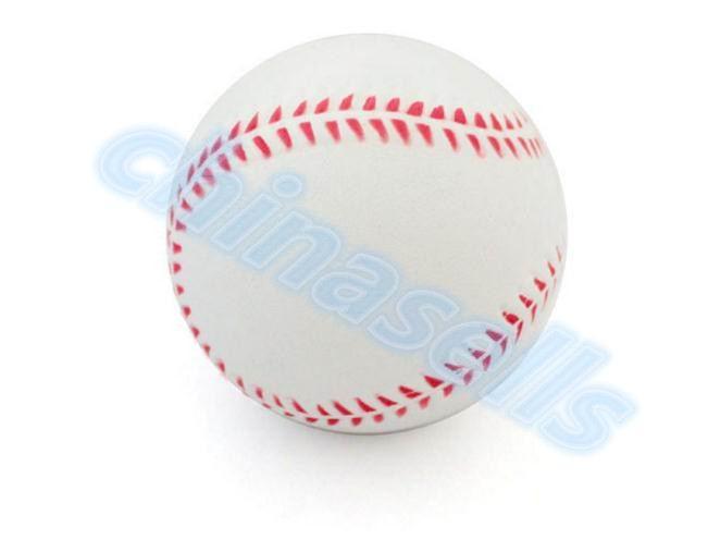 1pcs 9inch White safety kid Baseball Base Ball Practice Trainning PU chlid Softball balls Sport Team Game no hand sewing(China (Mainland))