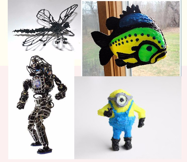 2015 DEWANG Brand Fantastic 3d pen 3d drawing pen Second Generation Display Screen With 20 Color 5M ABS Filament Free Shipping