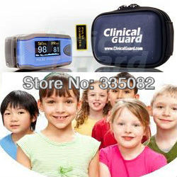 Color display pediatric oxi meter Portable Fingertip Finger Pulse Oximeter Blood Oxygen SpO2 Monitor for Kid Child Free shipping