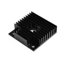 40*40*11mm Radiator Aluminum Heatsink for Makerbot 41 Stepper Motors Extruded Profile Professional 3D Printer Heat Sink
