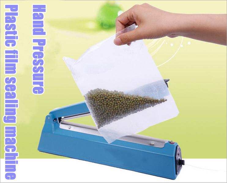 AC 220V 200 Hand pressure PP PE Sealer plastic film manual sealing machine packing machine(China (Mainland))