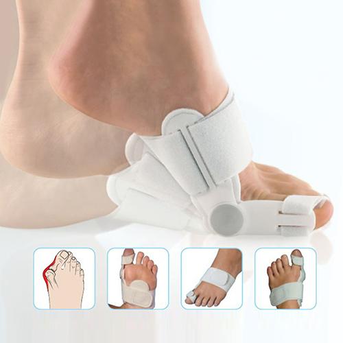 2015 lindo! 2 Pcs pés cuidados polegar aparelhos ortopédicos Toe hálux valgo fixa osso grande Pedicure