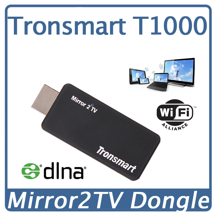 Tronsmart T1000 Android TV HDMI Wireless Miracast Dongle Better than Google Chromecast Display Ezcast Mirror2TV IPTV Android TV(China (Mainland))