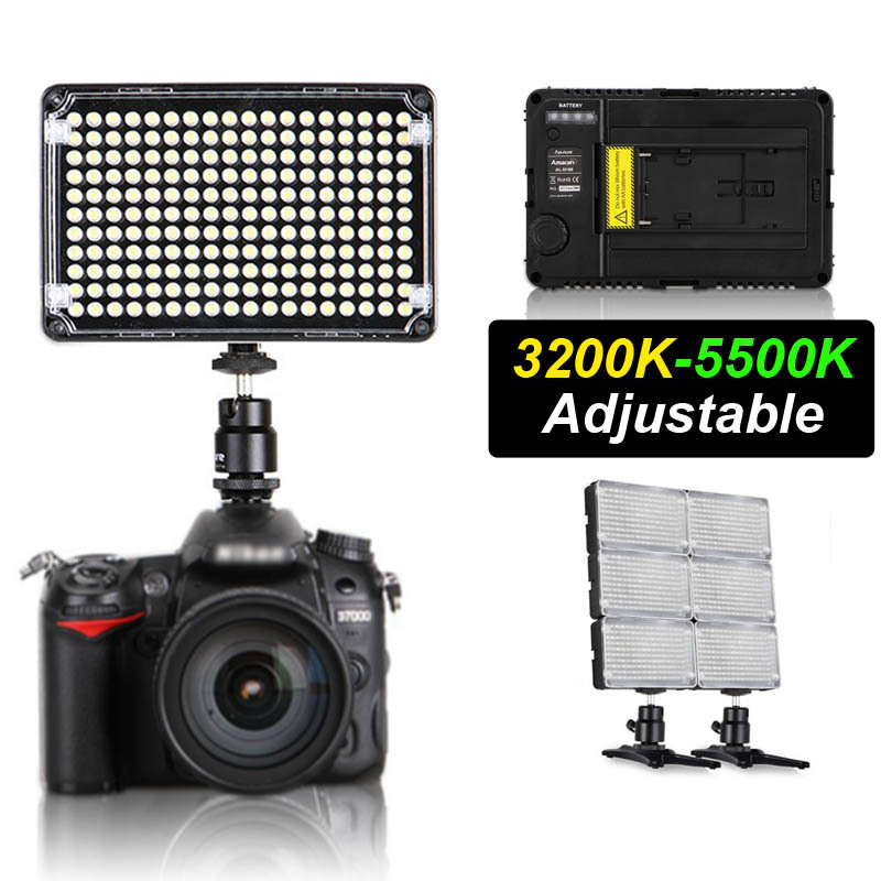 Pro Aputure Amaran H198C CR95+ LED Video Light Camera Camcorder Light Adjustable Colour Temperature For Canon Nikon Sony Pentax<br><br>Aliexpress