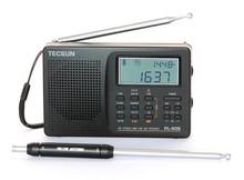 FM stereo AM/MW/LWSW long wave short wave pl606 radio Receiver Tecsun PL-606 DSP ETM CLOCK Temperature display  BY EXPRESS