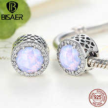 Buy 925 Sterling Silver Radiant Hearts, OAlescent Pink Crystal Clear CZ Beads Charms fit Pandora Charm Bracelets DIY Fashion Jewelry for $7.65 in AliExpress store