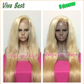 High Quality 613 Blonde Full Lace Wig Glueless Lace Front Wig natural straight Human Hair Wigs