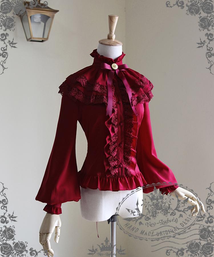 New Fashion Beautiful Sweet Cotton Blouses Lolita Blouses(China (Mainland))