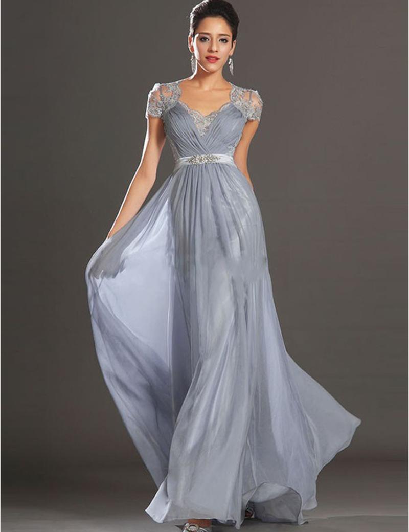 Online Get Cheap Silver Gray Formal Dresses -Aliexpress.com ...