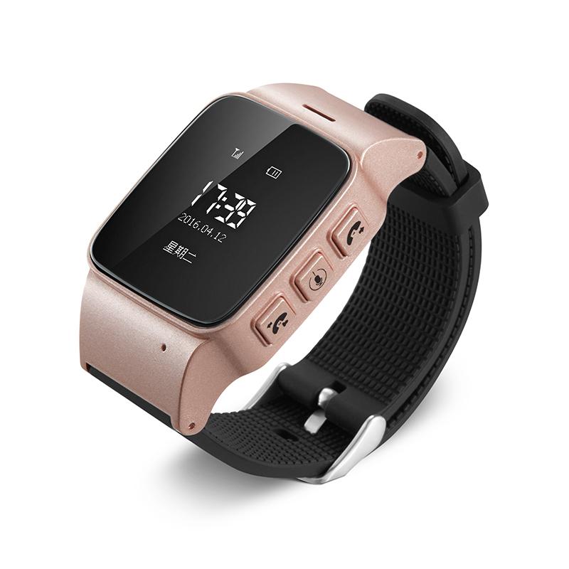 LEKEMI GPS tracker watch for seniors google map sos button gps bracelet personal tracker gsm gps locator(China (Mainland))