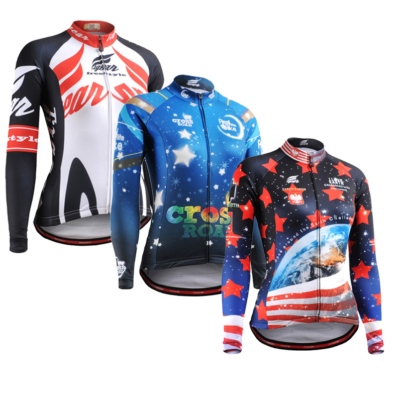 Full 3D Prints Female Compression Shirts Long Sleeves Tight Skin Tee Tops Zipper Multi-functional Workout Fitness Sport Wear - ZEOINU store