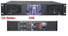 2X400W 8ohms 800W Professional Amplifier OKPA Crest audio CA6 amplifier top professional power amplifier CA serial(China (Mainland))