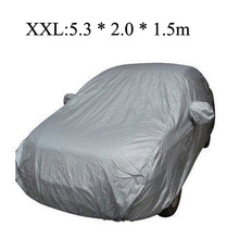 Universal Car Covers Styling Indoor Outdoor Sunshade Heat Protection Dustproof Anti UV Scratch Resistant Sedan(China (Mainland))