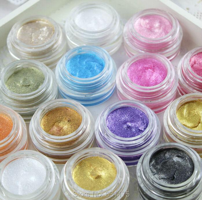 (14pcs/lot) Brand LOVE ALPHA waterproof eyeliner gel  eyes makeup set 14 colors<br><br>Aliexpress