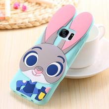 Cute 3D Cartoon Zootopia Judy Bunny Case Sony Xperia M4 Aqua Dual E2303 E2333 E2353 Rabbit Cover - Beijing beyond Technology Co. Ltd. store
