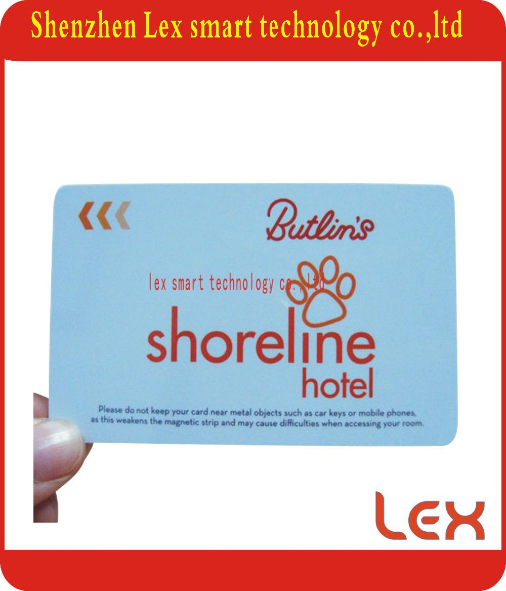 125khz atmel 5577 ic chip card for hotel door lock(China (Mainland))