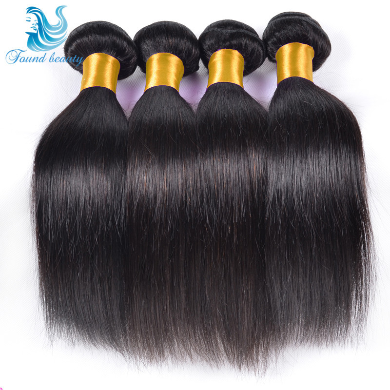 Brazilian Virgin Hair Straight 4 Bundles Grade 7A 100% Unprocessed Human Hair Weave Queen Hair products Sexy Brazilian Straight