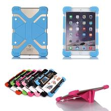 Universal Shockproof Silicone Soft Stand Case Cover for Chuwi Vi7 Android 5.1 3G Phablet 7 inch Quad Core Tablet PC
