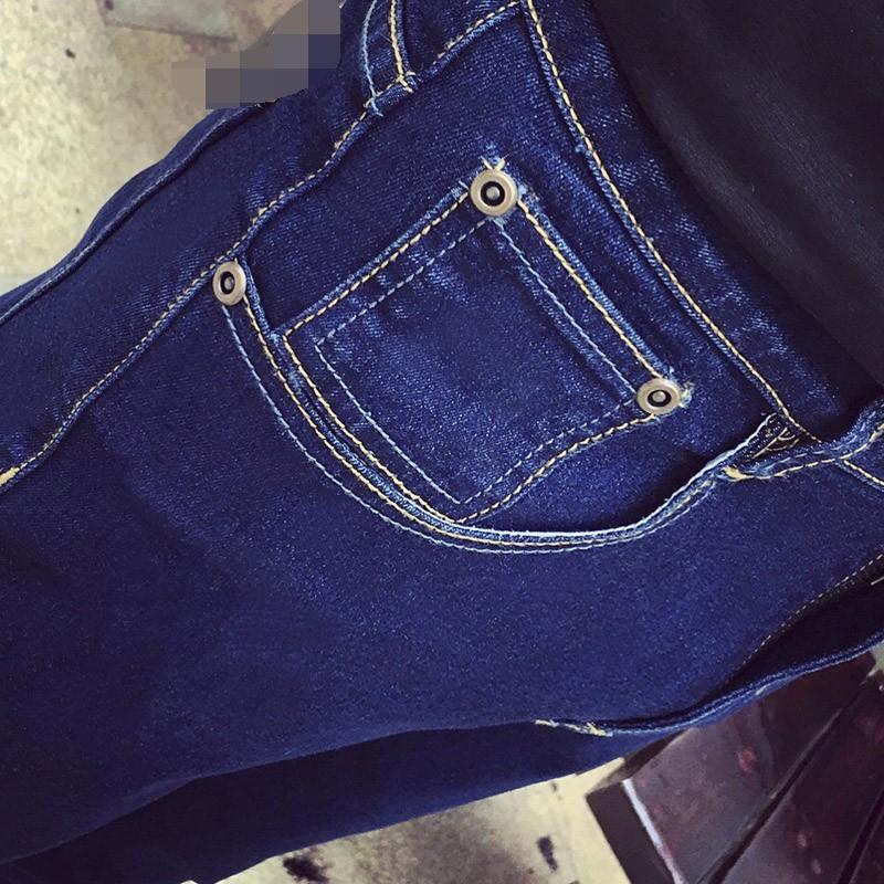 Скидки на Taddlee Марка Классический лучшие дизайнерские прямые мужчин джинсы Европа Америка стиль джинсы человек тонкий тощий длинный полная длина брюки