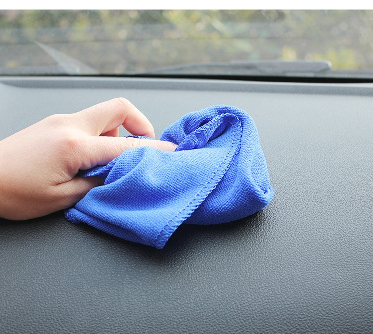 Free Shipping 10PCS per Lot 30cmx30cm Microfiber Car Cleaning Towel Microfibre Car wash Cloth Hand Towel(China (Mainland))