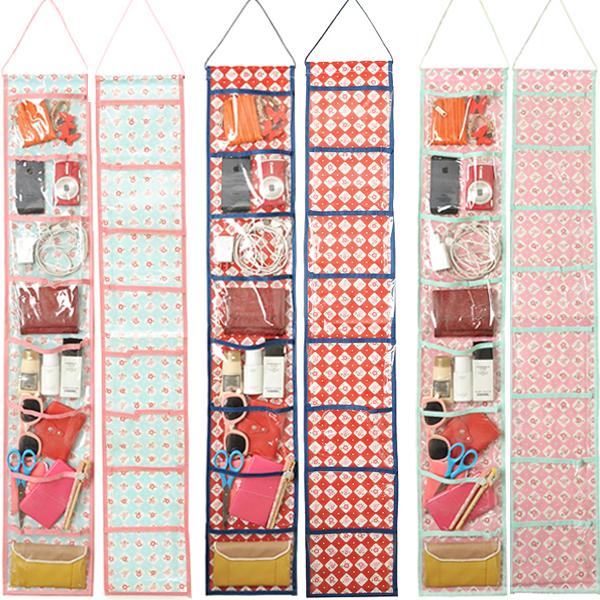 New 8 Pockets Waterproof Wall Hanging Pocket Organizer Closet Storage Hanger Behind Doors On Walls(China (Mainland))