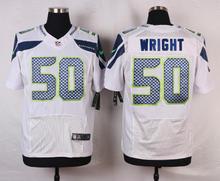 Seattle Seahawks #31 Kam Chancellor #29 Earl Thomas III #25 Richard Sherman Elite White and Steel Blue Team Color free shipping(China (Mainland))