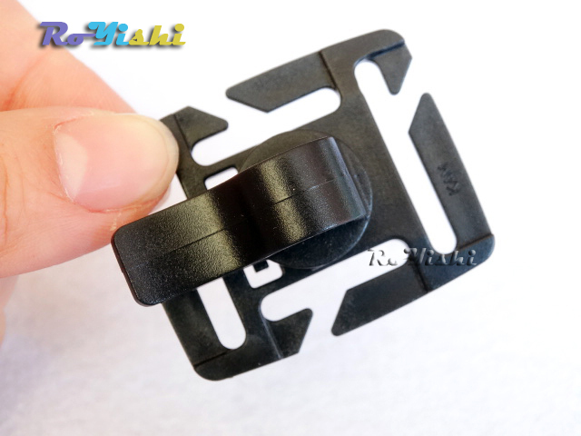 25pcs MOLLE Rotation Sternum Strap Tube Pipe Clip Holder Buckle Webbing19mm/25mm(China (Mainland))