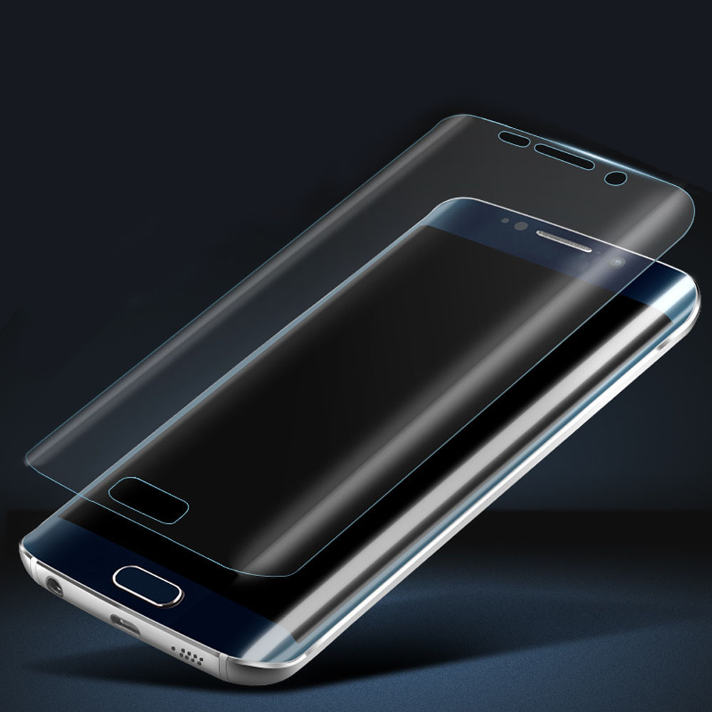 Ultra Slim 2015 New Full Clear 3D PET + TPU Curved Film Screen Protector Samsung Galaxy S6 Edge - Hillsionly Store store