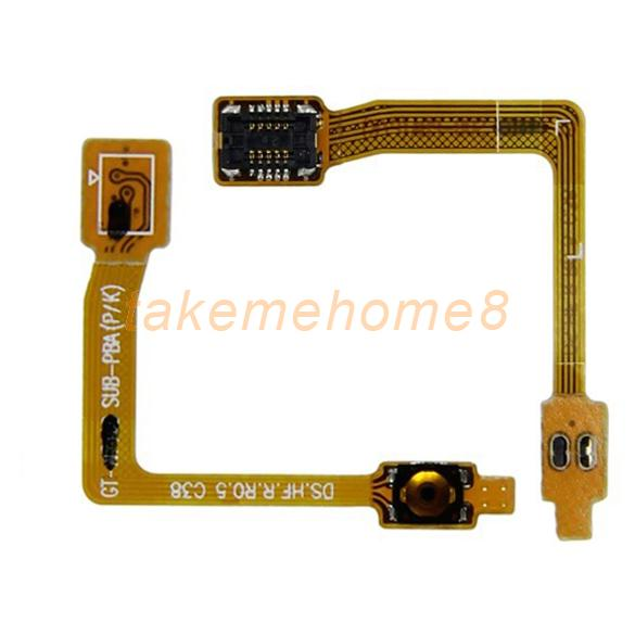 ON/OFF Power Button Flex Cable Parts for Samsung Galaxy Note 2 II N7100 WORD