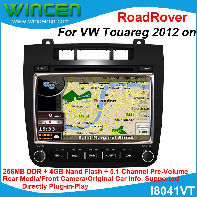 "RoadRover Brand 8"" Car DVD GPS Player for VW Touareg 2012 on 4GB Nand Flash Car Navitation for Touareg Car GPS for Touareg(China (Mainland))"