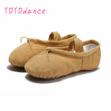 Buy New Arrival 6 color Children Kids Girls Canvas Ballet Dance Shoes Kids Girls Slippers Pointe Dance Gymnastics Shoes 4020 for $6.90 in AliExpress store