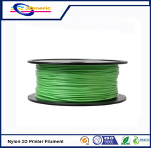 3D printer filament 1.75mm Nylon PA extruded plastic green colour 3D printer material high strength engineering level