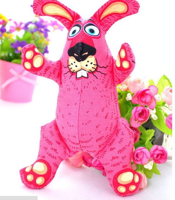 Pet Sound Toys Red die for the rabbit(China (Mainland))