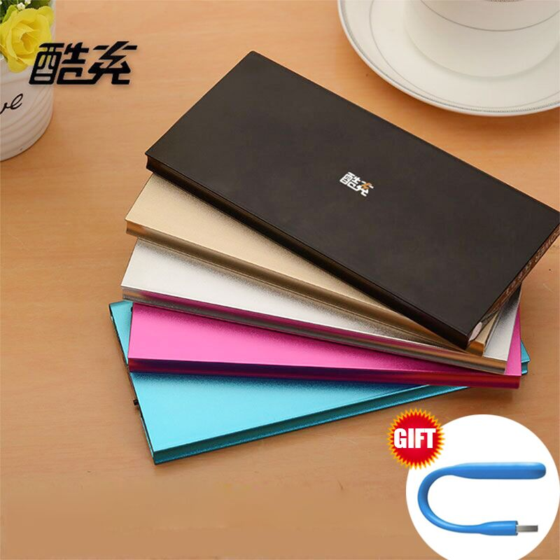2016 hot 12000mAh Power Bank Universal External Battery 2 USB LED light Portable Charger for xiaomi for all phone(China (Mainland))