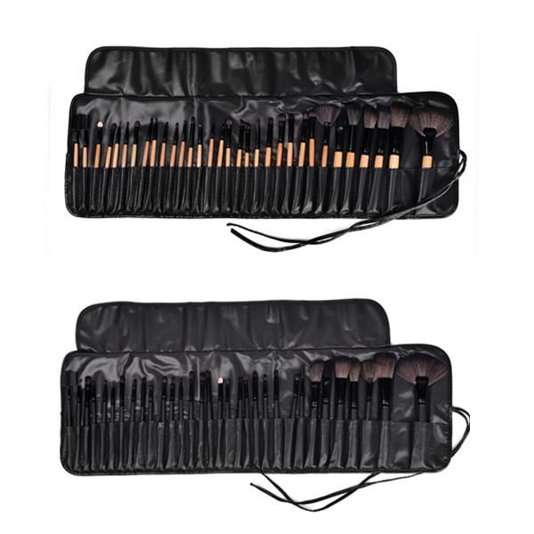 32PCS Professional Cosmetics Brand Makeup Brush Set Powder Blush Foundation Contour Make Up Naked Brushes Maquillaje Set Tool(China (Mainland))