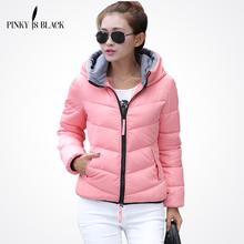 Desgaste neve jaqueta wadded jaqueta feminina 2016 outono e inverno mulheres de slim curto algodão-acolchoado jacket outerwear casaco de inverno mulheres