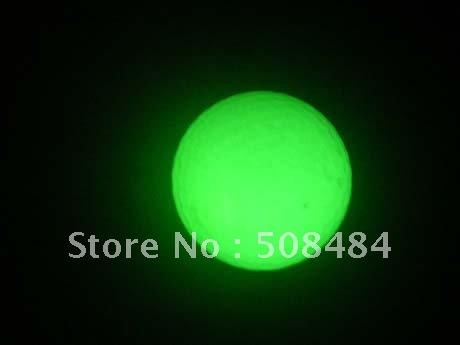 1000pcs/lot free shipping glow golf ball glow in the dark golf ball luminous golf ball light up golf ball for night playing(China (Mainland))