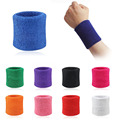 Men Women Sports Sweatband Tennis Squash Badminton Terry Cloth Wrist Sweat Bands Basketball Gym Wristband Wrist
