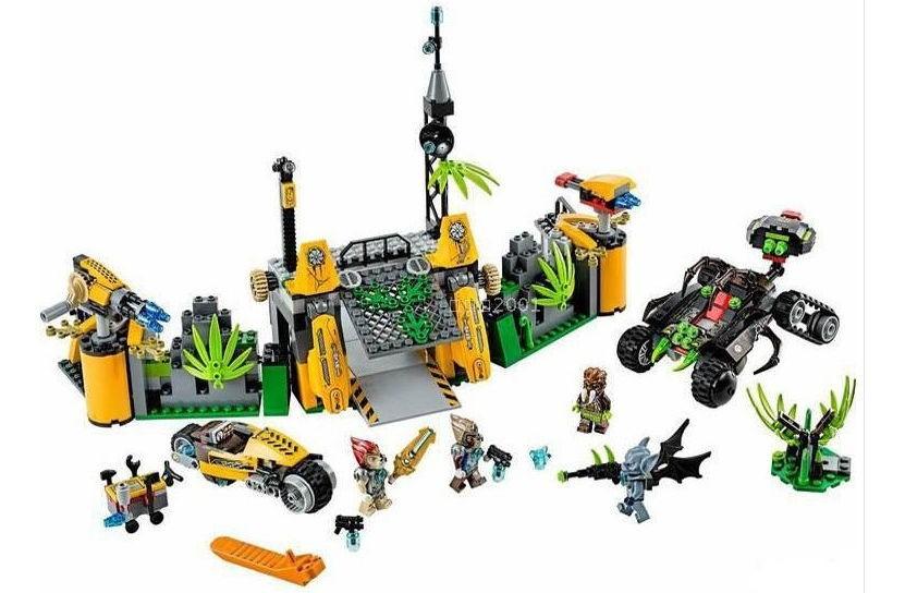 10079 chimaed lgende de cheval rouge animaux qigong vert lion base assemblage de blocs de jeu de construction enfants briques j