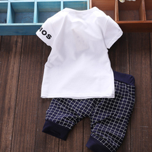 Baby Boy Clothes Summer Kids clothes Sets T-Shirt Pants Suit Clothing Set Star Printed Newborn Sport Suits