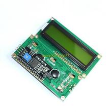 ( Green screen ) For Arduino IIC/I2C 1602 LCD Module Yellow Green provides library files(China (Mainland))