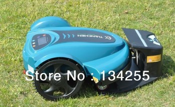 Free SHIPPING BY DHL 2013 Newest Brand 158N Lithiumbattery Robot Lawn Mower With Password,Schedule and Subarea Setting