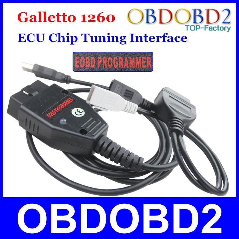 Гаджет  Factory Price Galletto 1260 ECU Chip Tuning Interface OBDII Galletto ECU Flasher EOBD-1260 Programmer By Read & Write Car