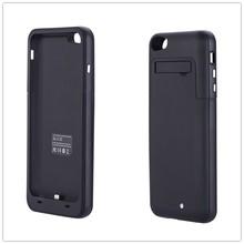6000mAh Emergency External Portable Battery Charger Phone Case Backup Power Bank Bateria Cargador Fundas for iPhone 6 Plus 5.5